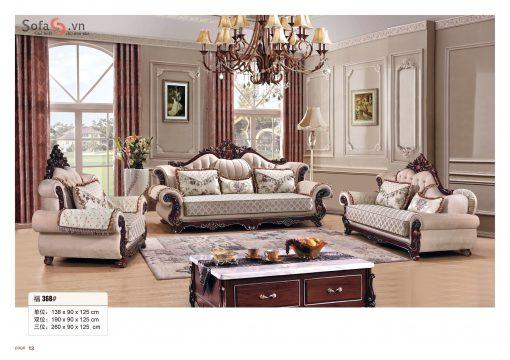 sofa tân cổ điển 1-2-3